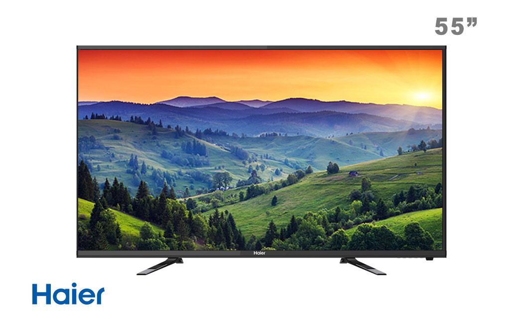 تلویزیون ال ای دی 55 اینچ هایر
