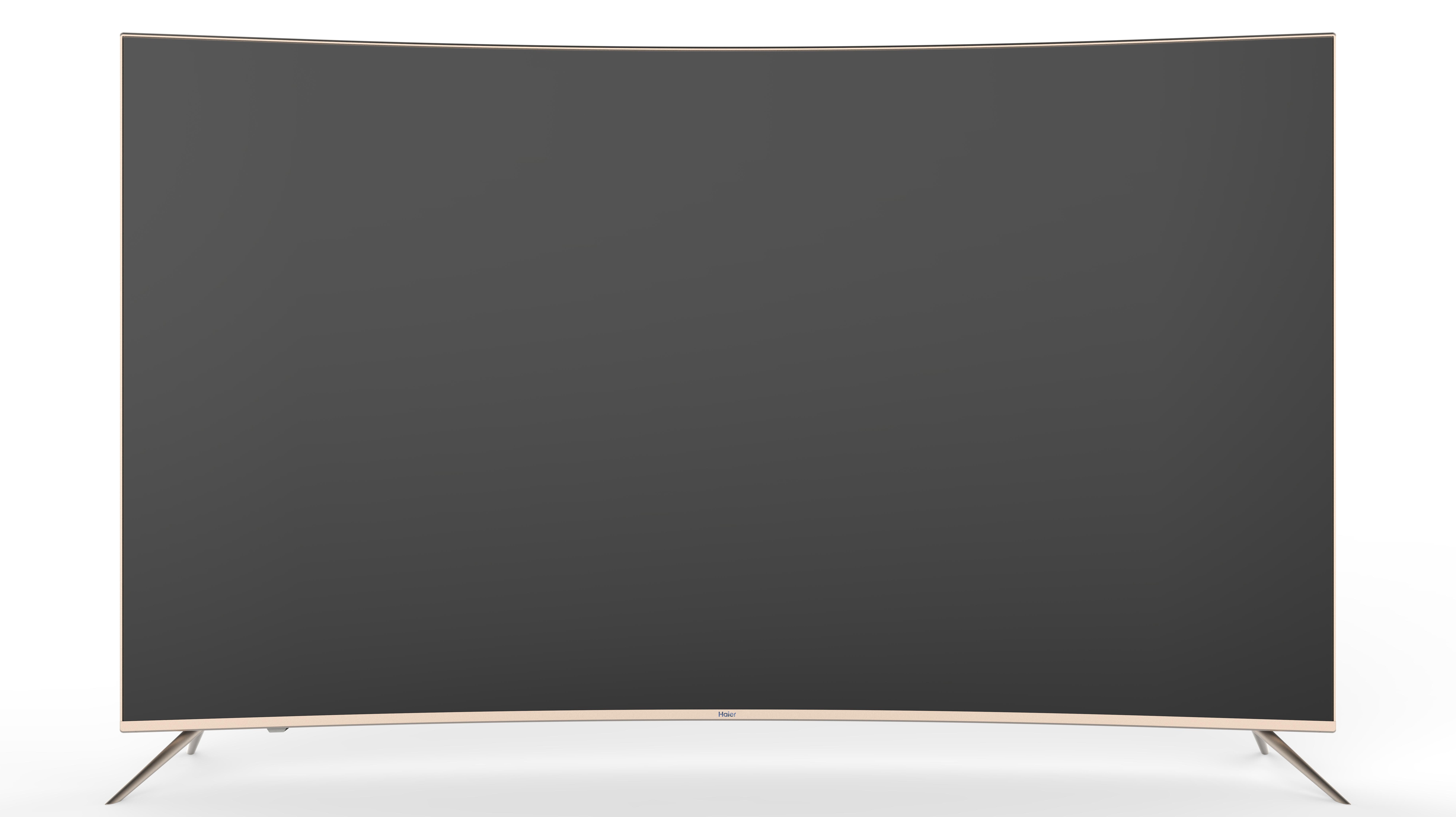 تلویزیون  ال ای دی55اینچ curve  هایر